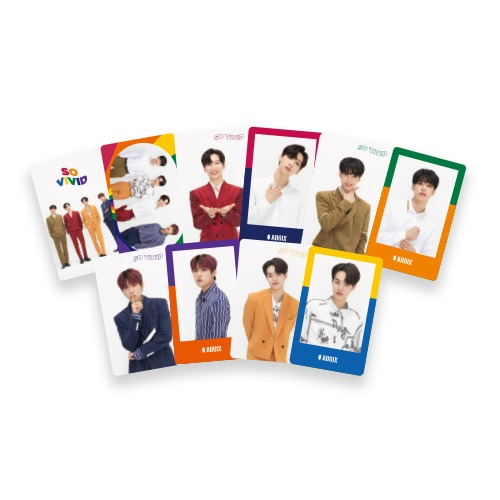 AB6IX - SO VIVID PHOTOCARD SET