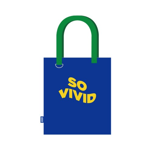 AB6IX - SO VIVID CANVAS BAG