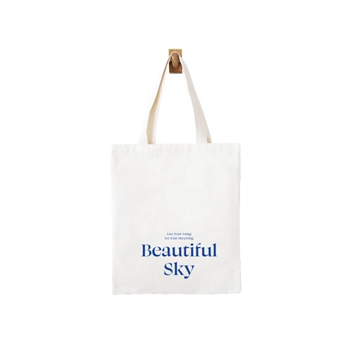 LEE EUN SANG - BEAUTIFUL SKY CANVAS BAG