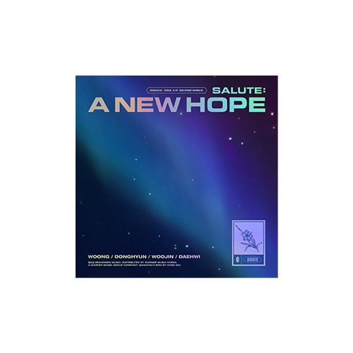 AB6IX - 3RD EP REPACKAGE [SALUTE : A NEW HOPE]